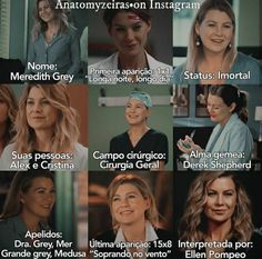 Derek Shepherd, Greys Anatomy Memes, Grey Anatomy Quotes, Grey's Anatomy Hospital, Lexie Grey, Cristina Yang, Ellen Pompeo, Best Tv Shows, Grey Hair