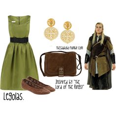 """Legolas inspired fashion"" by erfquake on Polyvore"