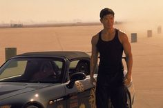 Pin for Later: The Fast and the Furious Nostalgia: Go Back to the Beginning With These Pictures The Fast and the Furious Johnny Tran (Rick Yune) is not as popular, possibly because he challenges Dom in the tank-top-wearing department. Fast And Furious, The Furious, Rick Yune, Idol 4, Loan Application, Car Loans, Event Photos, Good Looking Men, Picture Photo