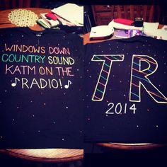 My Thomas Rhett concert shirt!