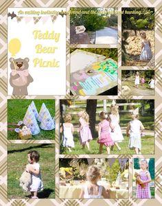 Teddy Bear Picnic Birthday Party Ideas | Photo 34 of 36 | Catch My Party