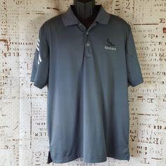 fae755c6a2b2c Adidas Purmotion Cool Max 3 Placket Golf Polo Mens size Large Red Hawk  Idaho  adidas