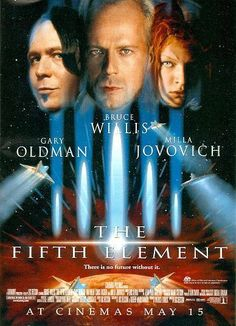"""The Fifth Element """"Everything you create, you use to destroy.""""...   """"Yeah, we call it human nature."""""""
