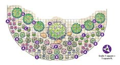 Deer-resistant garden bed : Want extra color? This planting plan is filled with deer-resistant plants that thrive in full sun to part shade. Source by Deer Resistant Landscaping, Deer Resistant Flowers, Deer Resistant Garden, Deer Resistant Perennials, Deer Resistant Shade Plants, Full Sun Perennials, Flowers Perennials, Full Sun Landscaping, Deer Proof Plants