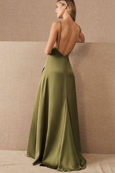 Pretty Prom Dresses, Hoco Dresses, Ball Dresses, Satin Dresses, Ball Gowns, Evening Dresses, Formal Dresses, Wedding Dresses, Olive Green Bridesmaid Dresses
