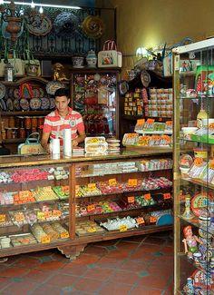 Dulceria (candy shop), Puebla, Mexico