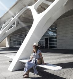 How to wear City Break Style Kaftans. On a recent trip to Valencia I started wearing my Kaftans differently, fed up of reserving them for the beach. Kaftans, City Break, Bibs, Opera House, Beach, Bikinis, How To Wear, Style, Fashion