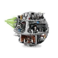 "LEGO Star Wars Death Star: The ultimate playset with 3,803 pieces. Death star measures 16(41cm) tall and 16½(42cm) wide and the TIE Advanced measures 3½"" (9cm) wide. $399.99 #Deathstar #LEGO #Toys"