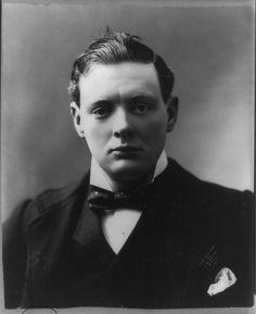 Sir Winston Leonard Spencer Churchill, ca. 1900 by J.E.Purdy