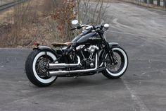 Customized Harley-Davidson Softail Cross Bones by Thunderbike Customs Germany
