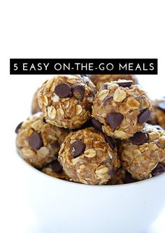 5 Easy On-The-Go Meals
