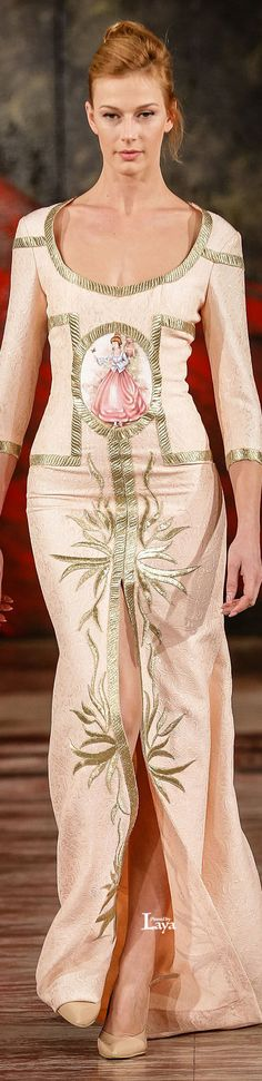 TOUFIC HATAB S/S 2015 Couture Love Fashion, Runway Fashion, High Fashion, Fashion Outfits, Fashion Design, Georges Chakra, Catwalk Collection, Couture Collection, Abed Mahfouz