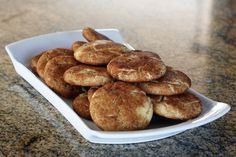 Celebrate the Season With These Classic Cinnamon Coated Snickerdoodles