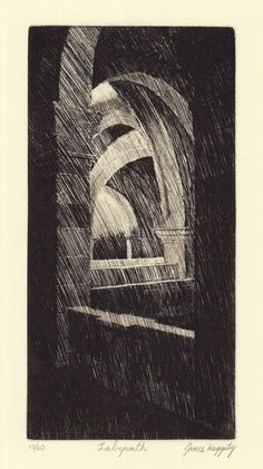 James Haggerty, Etching
