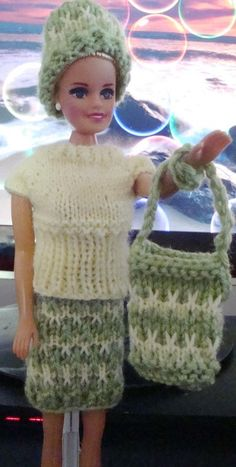 Ladyfingers - Barbie & Ken QUICKIE KNITTING PATTERNS