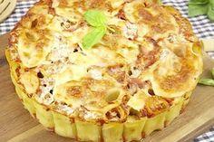 Torta di pasta al forno la ricetta per un piatto unico veloce e invitante