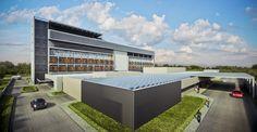 Placas solares e materiais ecológicos estão entre as escolhas de projeto que fizeram com que o hospital ganhasse a certificação AQUA-HQE. (Fonte: Galeria da Arquitetura).