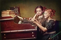 Children's Photography by Russian photographer Kariny Kiel