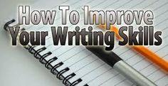 Improving Your Writer's Skills