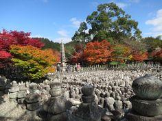 Adashino Nenbutsuji Temple Best Memories, Kyoto, Temple, Sidewalk, Japan, Nice, Okinawa Japan, Temples, Pavement