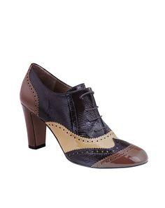 Zapato de cordones de mujer Gloria Ortiz
