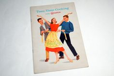 Title: Teen Time Cooking with Carnation  Copyright: 1959  Number of Pages: 16 pages  Condition: in good vintage condition. Book measures 9 x 6