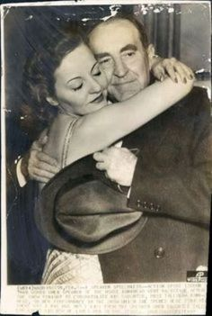 Tallulah Bankhead and her father William B Bankhead