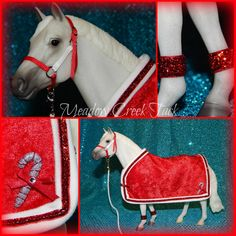 Blanket & Halter Set for Traditional Breyer Model Horse