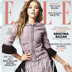 It's here! Our September #NewSeason issue is on sale now, featuring superstar blogger @kristina_bazan on the cover #ELLELovesKayture