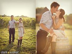 Engagement Pictures Poses Ideas | Engagement Photo Ideas | Clark+Walker Studio | Albany wedding ...
