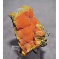 Orpiment 3.8 inch .98 lb Natural Botryoidal Crystal Specimen - China