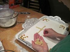 Decorating the Koliva Tray, Decorating, Greek, Decor, Decoration, Trays, Decorations, Dekoration, Greece