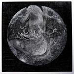 guanlan moon 2, wood engraving, 2009, peter lazarov.