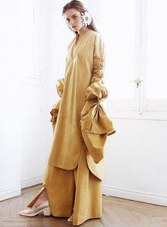 Maria Clé Leal Duster Coat, Editorial, Breakfast, Jackets, Fashion, Morning Coffee, Down Jackets, Moda, Fashion Styles