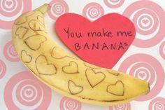 Bananagram   40 Unconventional DIY Valentine's Day Cards