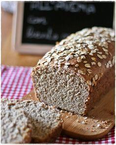 Oat sourdough bread