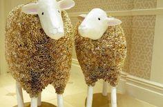 Paperroll sheep