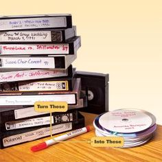 How to Convert Videotapes to DVDs