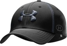 Men's UA Catalyst Training Stretch Fit Cap Headwear by Under Armour Combo Large & Extra Large Black by Under Armour. $24.95. Fitted hat with ultra-lightweight construction for enhanced comfort and breathability. Stretch performance fabric made from recycled plastic bottles. Built-in internal sweatband wicks moisture to help keep you cool and dry. Large embroidered contrast logo on cap front and UA Catalyst logo on the side. 100% Recycled Polyester. Imported.