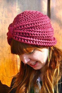 The Crochet Turban by Sara Dudek.  Pattern to buy.