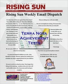 Rising Sun Weekly Email Dispatch for the week of March 13 (Volume 3, Number 2)  Weekly Newsletter