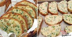 zapečený chlebíček