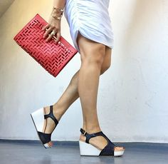 platform heels add height without a high heel Dress Stores Near Me, Prom Dress Stores, How To Look Expensive, Ankle Boots With Jeans, Ear Cuff Jewelry, Rolled Jeans, Beautiful High Heels, Diamond Drop Earrings, Styling Tips