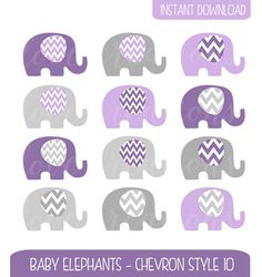 Pink Elephants Clip Art - Pink and Grey Chevron Baby Shower Clip Art - Style - Baby Girl Clip Art - Elephant Illustration by igivelove on Etsy Elephant Baby Showers, Pink Elephant, Baby Elephants, Grey Chevron, Pink Grey, Make Your Own Invitations, Elephant Illustration, Girls Clips, Baby Girl Crochet