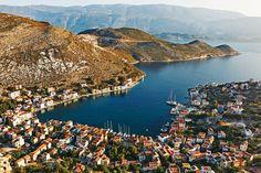 Kastellorizo harbour, Greece. Photo: Oliver Pilcher