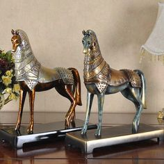 find more resin crafts information about golden horse figure