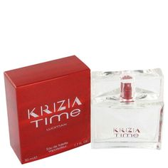 Krizia Time By Krizia Eau De Toilette Spray Oz (pack of 1 Ea) Hermes Perfume, Italian Fashion Designers, Shop Usa, Parfum Spray, Beauty Care, Bath And Body, Perfume Bottles, Passion, Spicy