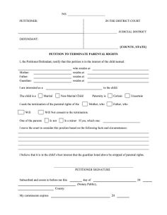 A notary official should use this printable legal form to legally if a child is being neglected or mistreated a petitioner can use this form to altavistaventures Choice Image