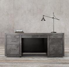 la salle metal wrapped desk carruca desk office