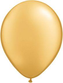 9 inches Metallic Tone Latex Balloons 100 Pack
